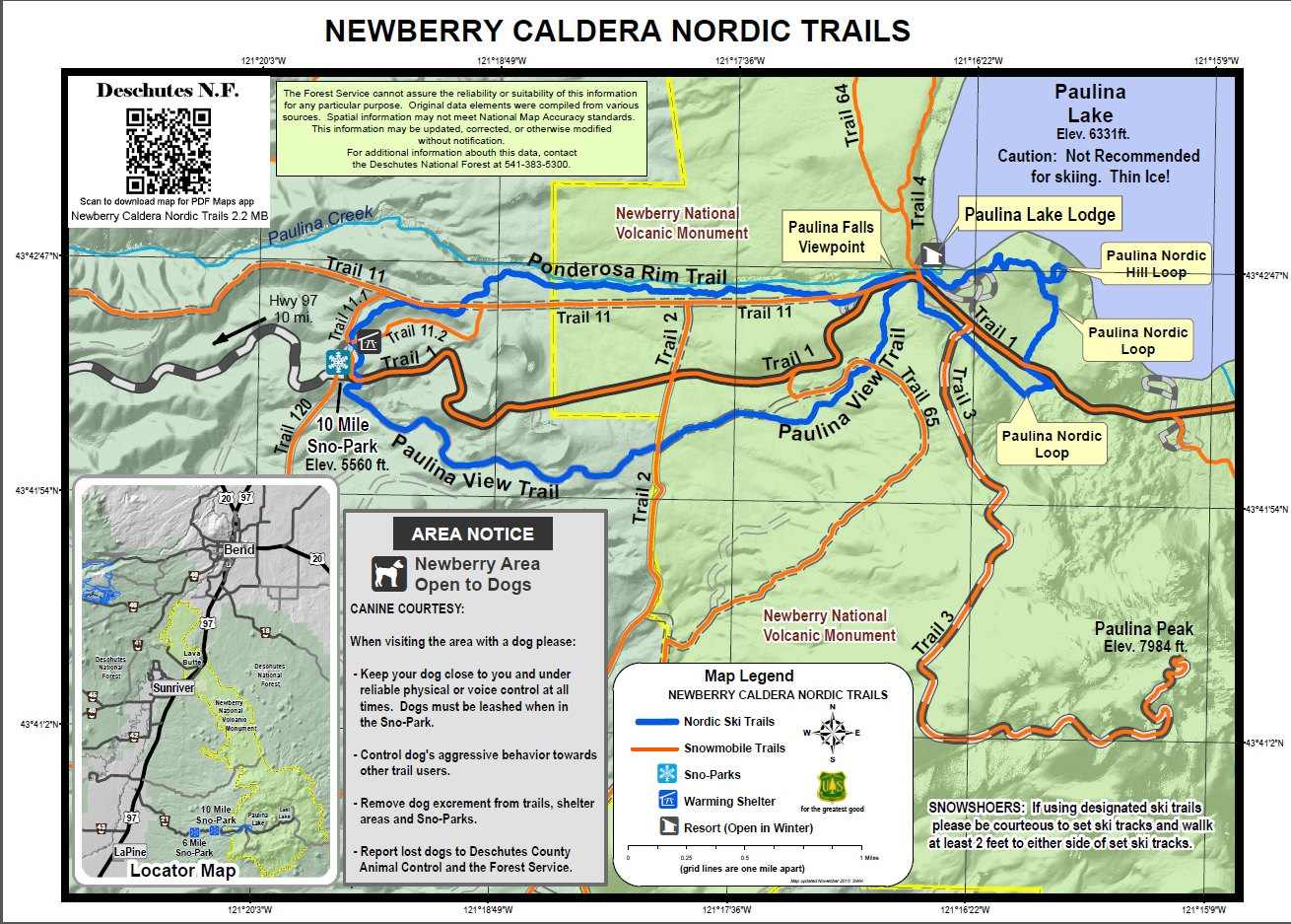 Deschutes National Forest - Maps & Publications