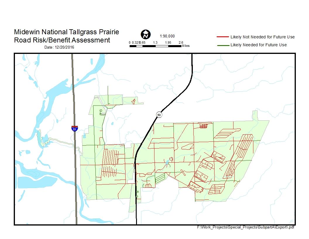 Midewin national tallgrass prairie planning map of roads pdf gumiabroncs Images
