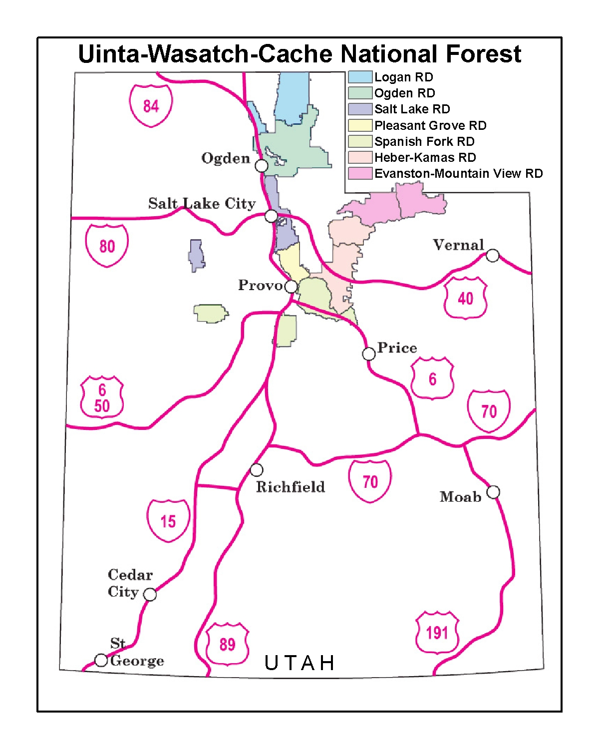 Uinta-Wasatch-Cache National Forest - Employment on uinta national forest map, fishlake national forest map, apache national forest map, utah dixie national forest map, se id national forest map, chattanooga national forest map, wayne national forest trail map, united states national forest map, oklahoma national forest map, roosevelt national forest trail map, caribou national forest map, shawnee national forest map,