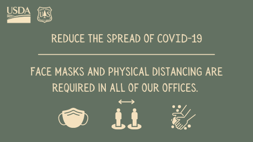 Face masks and physical distancing are required in all of our offices.