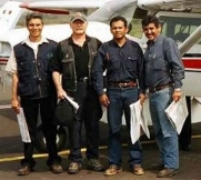 McConnell and colleagues -- aerial survey training in Mexico; 2004