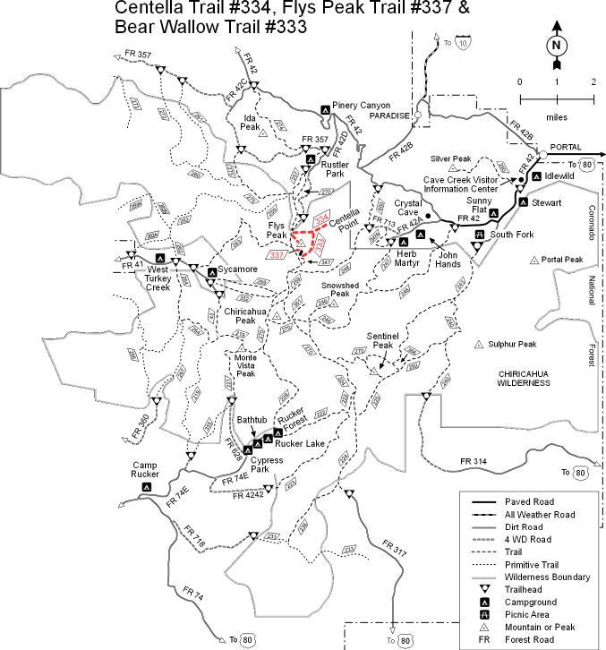 coronado national forest safford recreation area