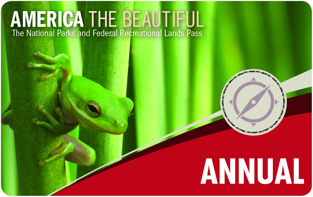 Image of the Interagency Annual Pass - Click here to learn more about this pass.