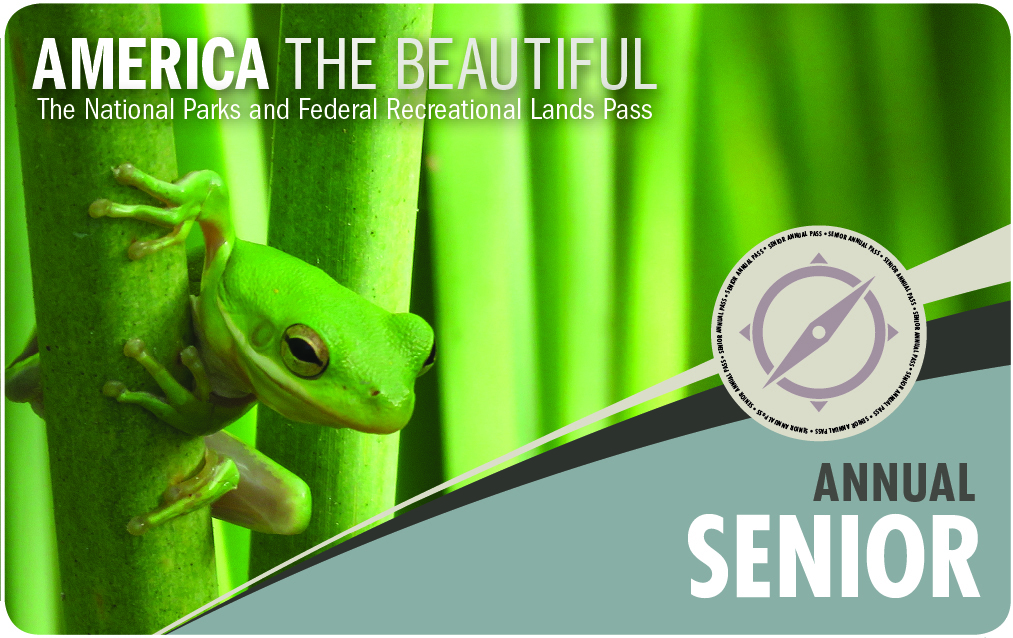Image of the Interagency Senior Pass - Click here to learn more about this pass.