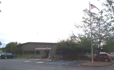 Hoosier National Forest office in Bedford.