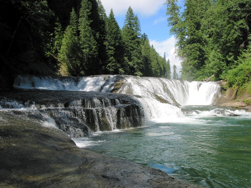 Picture of Middle Lewis Falls