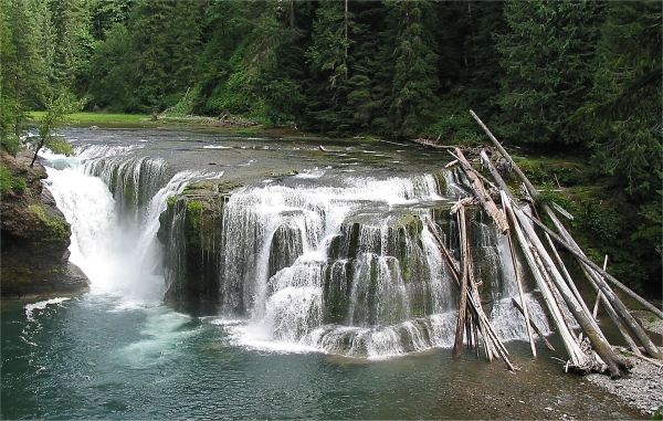 Picture of Lower Lewis Falls