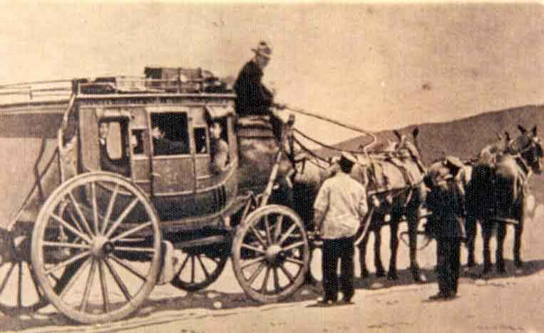 Large photo of stagecoach
