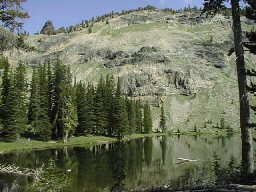 Photo of High Lake in the Strawberry Mountain Wilderness