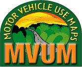 Motor Vehicle Use Map Logo