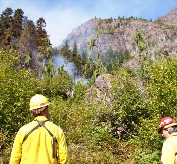 East Fork Fire 2006