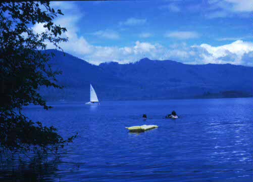 Lodge visitors can enjoy the beautiful Quinault Lake in many different ways..