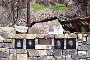 Thirtymile Fire Memorial.