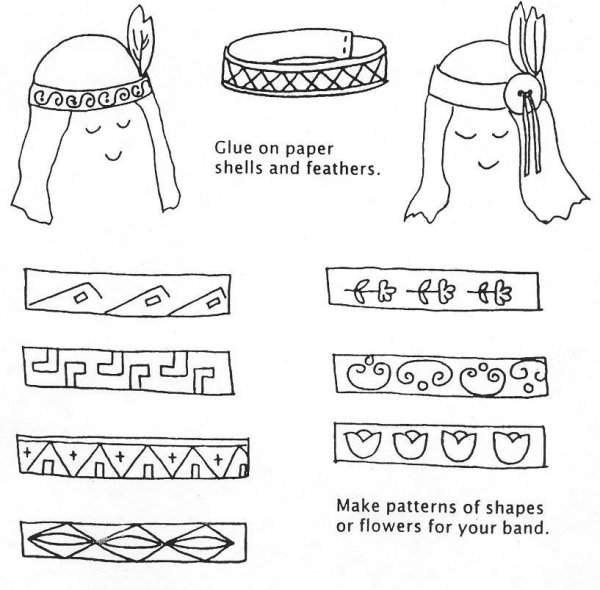 Make your own decorative headband