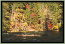 [PHOTO: North Umpqua River Near Boulder Flat - Click for larger 3,538 KB JPG - Photo by John Sloan]