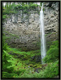 [PHOTO: Watson Falls - Click for larger 12,687 KB JPG - Photo by Greg Morgan]