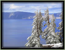 [PHOTO: Crater Lake - Click for larger 1,490 KB JPG - Photo by John Sloan]