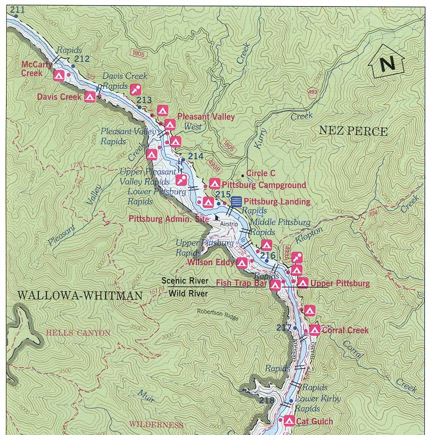 Wallowa-Whitman National Forest - Special Places on snake range map usa, snake river on map with key, snake america map, snake habitat map florida,