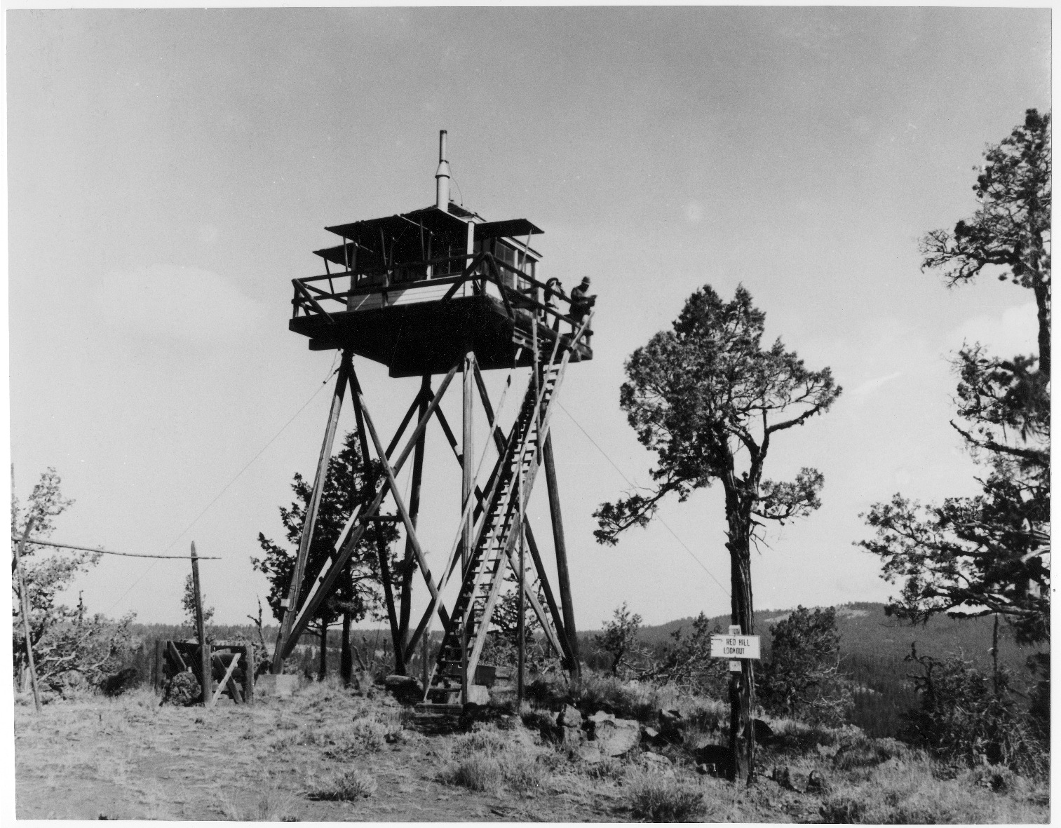 Lookout Tower Plans Forest Service History