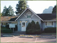 [Photo]: Snoqualmie Ranger District Office at North Bend