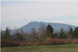 Marys Peak from Corvallis, Oregon