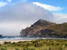 photo of Oregon Coast at Salmon River outlet