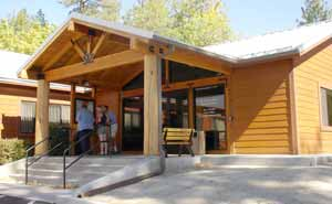 Photo: New Idyllwild Forest Service Visitor Center
