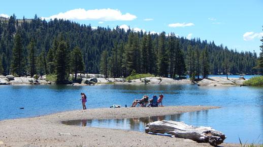 Lake Alpine on Highway 4