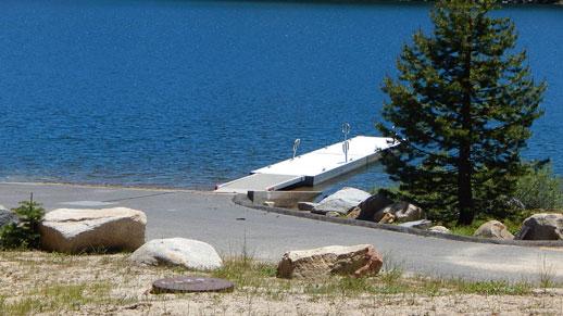 Lake Alpine Boat Ramp