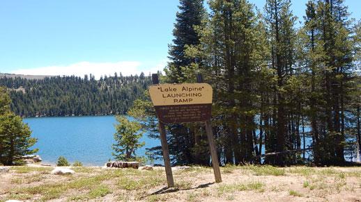 Lake Alpine Launching Ramp