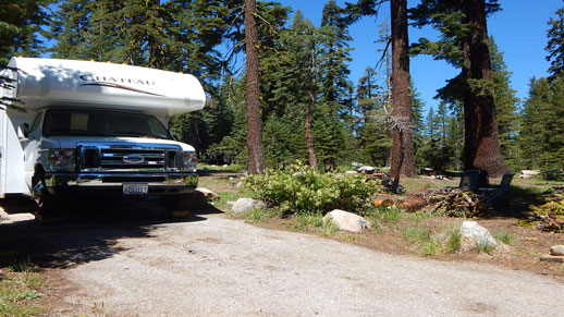 Silvertip Campground RV Parking
