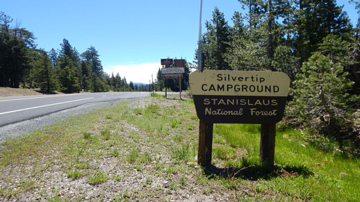 Silvertip Campground on Highway 4