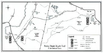 Paisley Woods Bicycle Trail