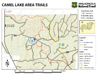 Camel Lake Area Trails