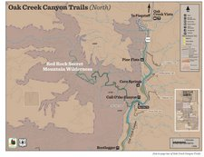 Red Rock Country Recreation Map - Oak Creek Canyon North (PDF)