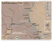 Red Rock Country Recreation Map - Oak Creek Canyon South (PDF)