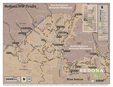 Red Rock Country Recreation Map - Sedona Northwest (PDF)