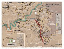 Red Rock Country Recreation Map - Sedona Southeast (PDF)