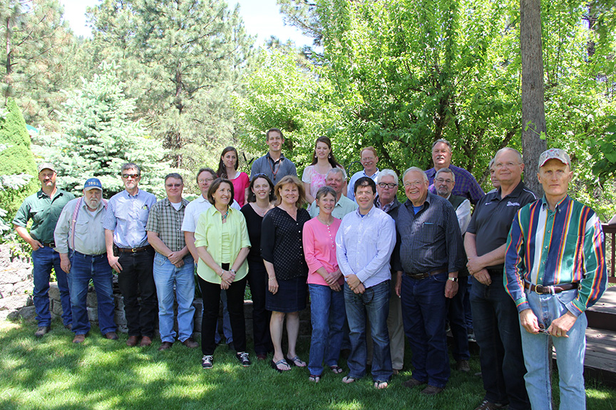 Members of the Clearwater Basin Collaborative Committee