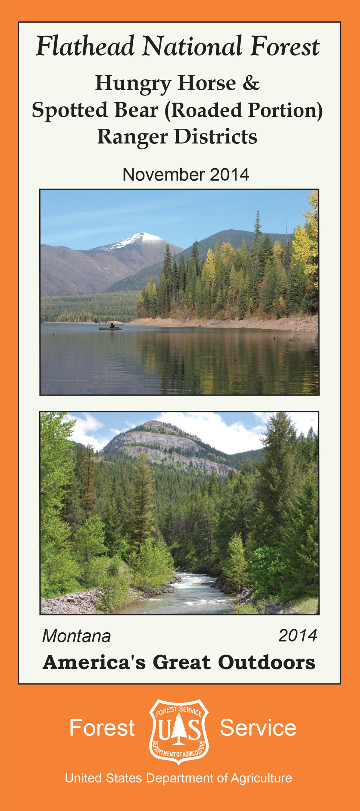Flathead National Forest Maps  Publications - Map of us national forest