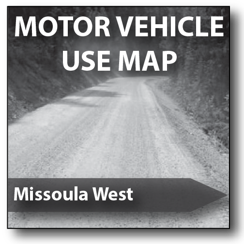Cover of the 2016 Missoula Ranger District Motor Vehicle Use Map