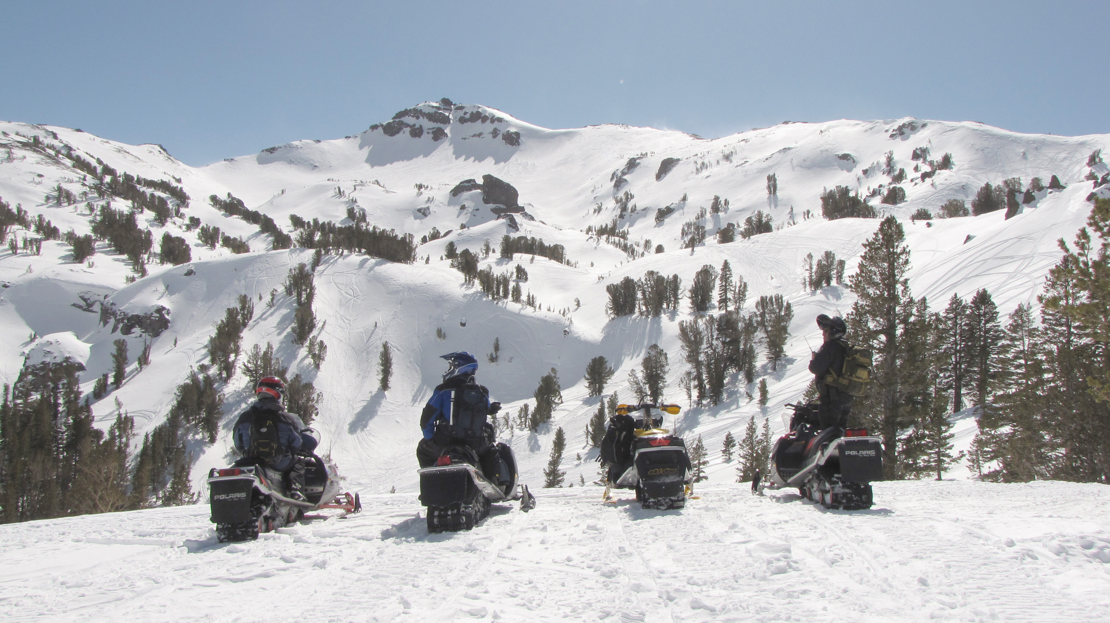 Snowmobiling at Bridgeport