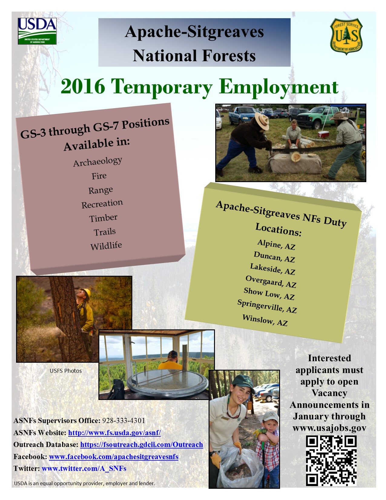 2016 Temporary Employment Flyer