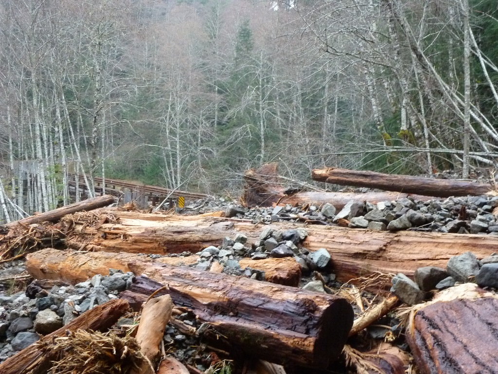 Gifford Pinchot National Forest Road Closures - 2809 flood damage 2015