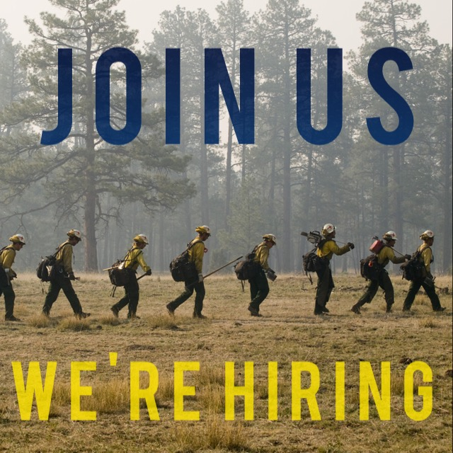 We are hiring for Fire!