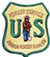 US Forest Service Shield with Smokey in the middle