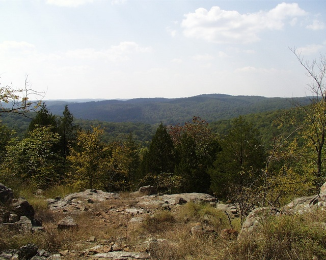 View from Bell Mountain