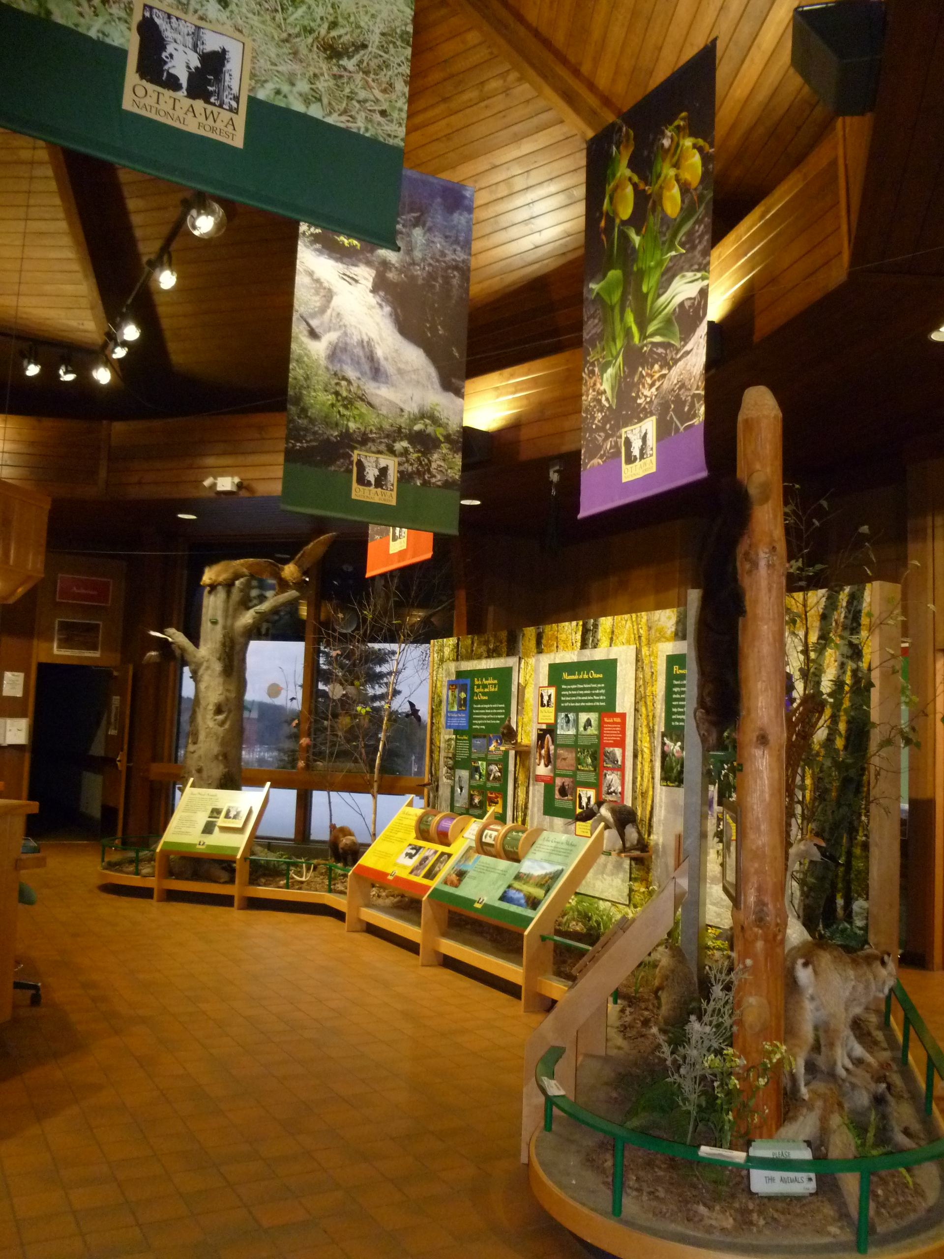 Photo:  Visitor Center Display