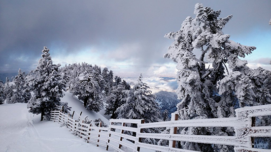 Winter makes its way to Mt. Baldy