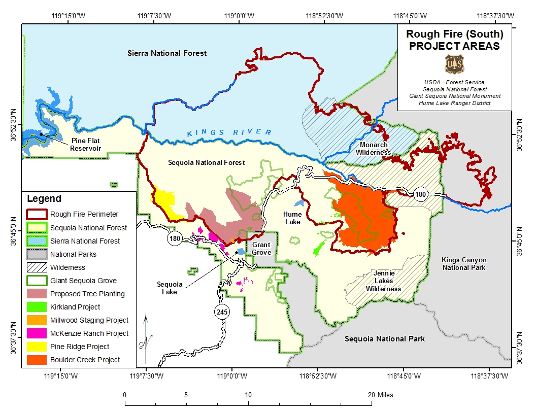Lake Isabella Fire Map.Sequoia National Forest Planning